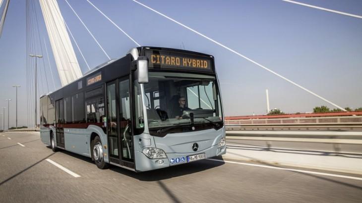 Flota STB se mărește cu 130 de autobuze Citaro Hybrid