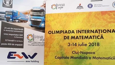 EVW Holding susține Olimpiada Internațională de Matematică