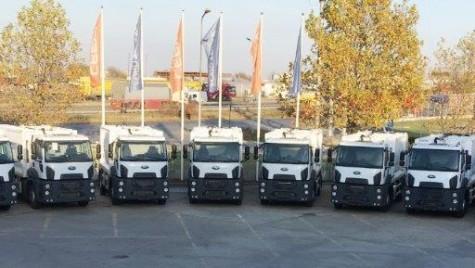 Ford Trucks a livrat 10 vehicule municipale pentru MUD RECYCLING