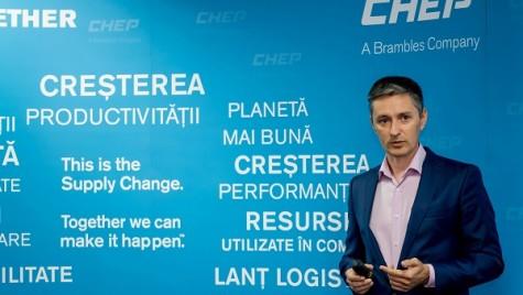 """LA O CAFEA CU… Gabriel Andronescu: """"CHEP România își propune să crească cu cel puțin 20% în fiecare an"""""""
