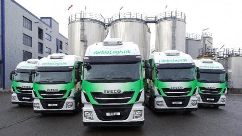 Iveco a livrat 1.000 de unități Stralis NP