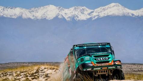 Dakar 2018: Dublă Iveco în etapa a zecea