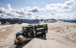 Dakar 2018: Iveco trece pe primul loc la general