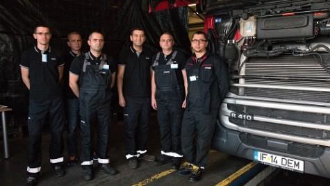 Cei mai buni tehnicieni de service Scania din România