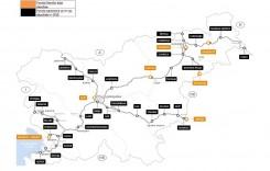 Taxa de drum din Slovenia: tarife mai mici pentru vehiculele cu 2 axe