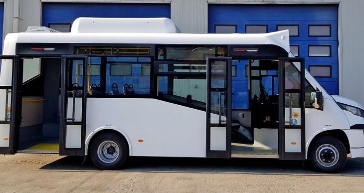 Primele autobuze CNGdin România