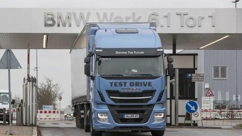 BMW testează camioane LNG pentru logistica internă