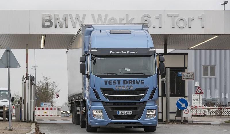Iveco LNG teste BMW