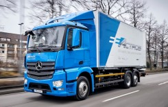 Mercedes-Benz eActros începe testele în mediu real