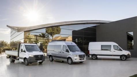 Mercedes-Benz a prezentat noul Sprinter
