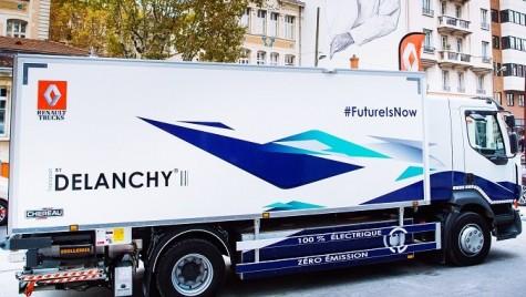 Renault Trucks va lansa o gamă electrică în 2019