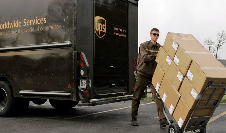UPS livrare online colet