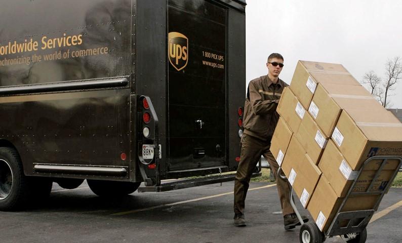 UPS livrare online colet Worldwide Economy