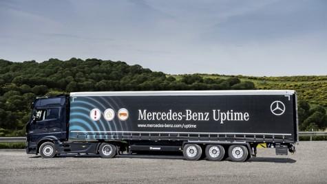 Mercedes-Benz extinde serviciul Uptime și la remorci