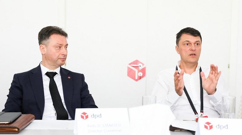 Radu Stanescu (Director Comercial) si Lucian Aldescu (CEO), DPD Romania