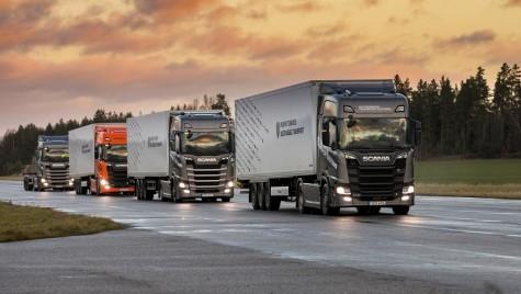 Scania, parteneriat pentru dezvoltarea plutoanelor de camioane