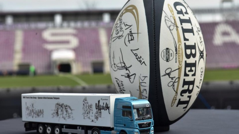 MAN rugby parteneriat Timisoara Saracens