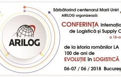 Conferința anuală ARILOG de Logistică și Supply Chain