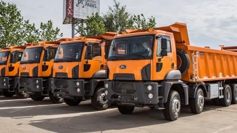 Cefin a livrat 16 autobasculante Ford Trucks către CNAIR