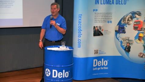 Marca de lubrifianți Texaco Delo a fost lansată în Europa