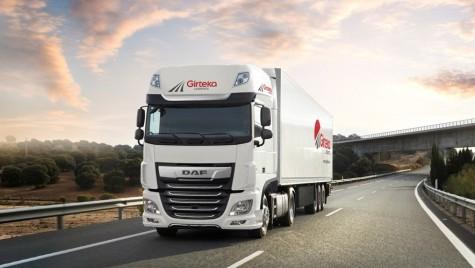 Girteka Logistics achiziționează 500 de camioane DAF XF