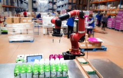 FM Logistic a testat la Petrești un robot pentru co-packing