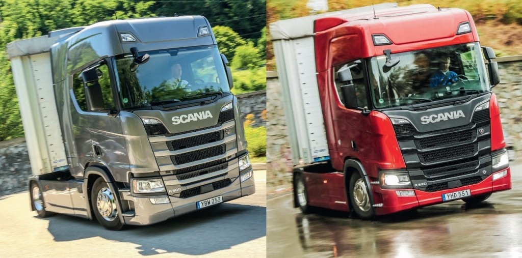test comparativ Scania R500 R520
