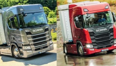 Test comparativ Scania R500 – R520: 6 în linie sau V8?
