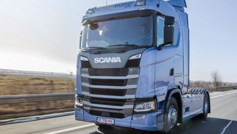 Începe Scania Driver Competitions