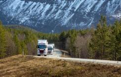 Scania testează plutoanele de camioane la Cercul Polar