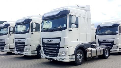 SAMOGIN TRANS achiziționează 12 camioane DAF XF