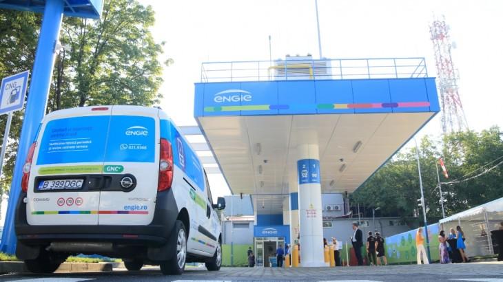 Engie lansează prima sa stație CNG din România