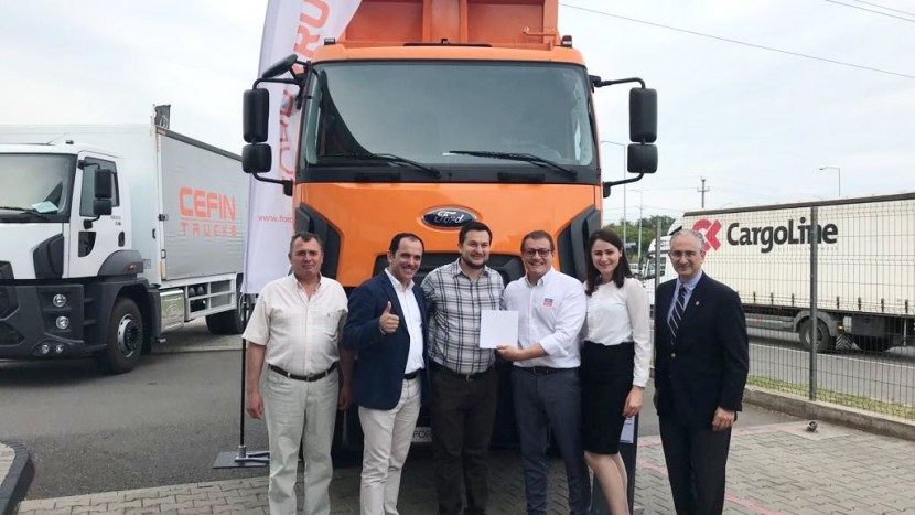 Ford Trucks livrare basculante Selina Grup