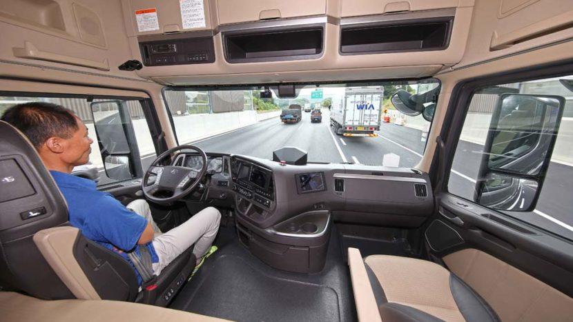 Camion autonom Hyundai