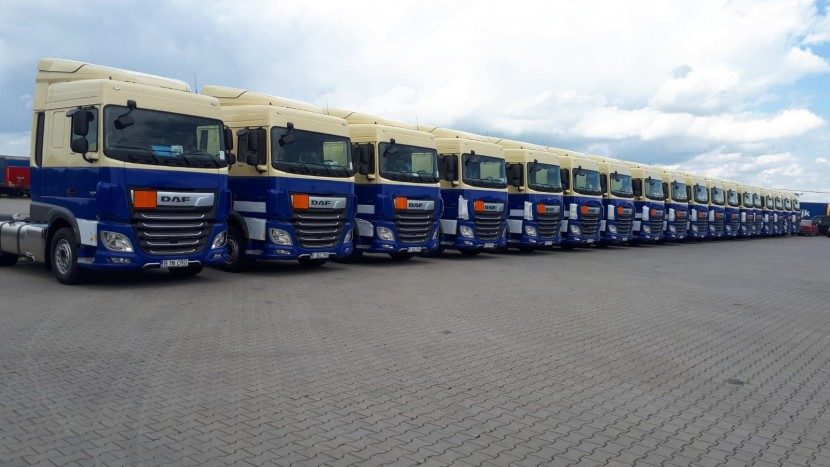 European Logistics DAF XF EVW Holding