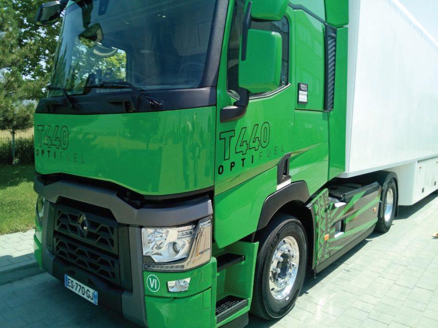 Renault Trucks T440 Optifuel exterior baterie