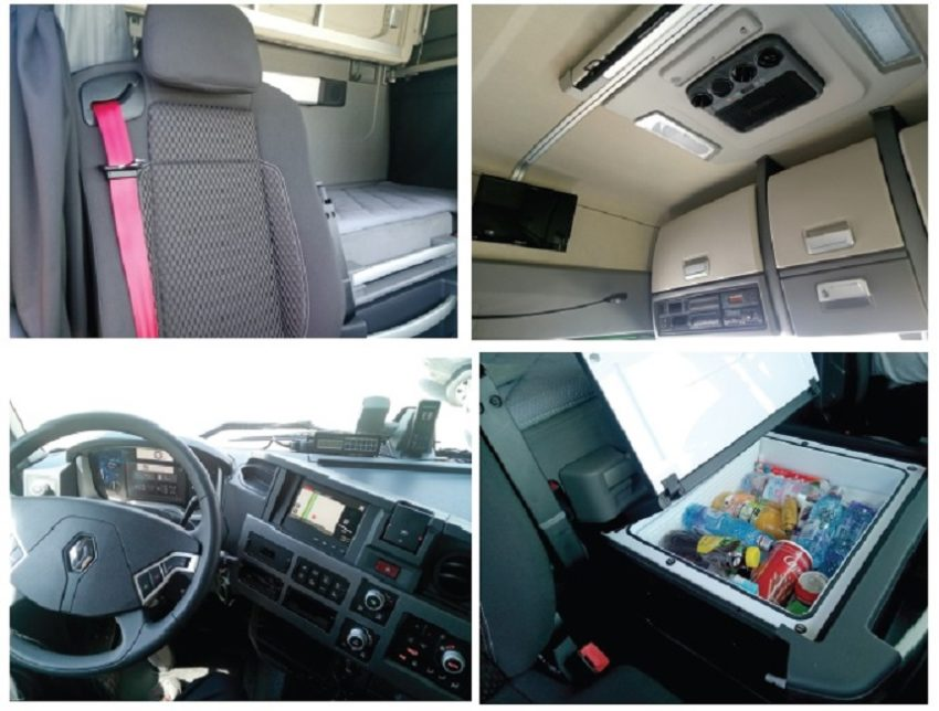 Renault Trucks T440 Optifuel interior