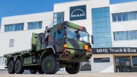 Roman SA ar putea să producă uncamion militar german