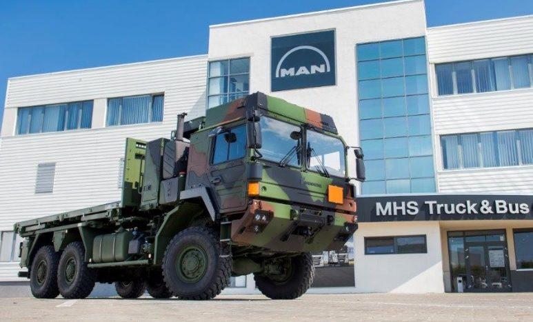 Roman SA camion militar Rheinmetall MAN