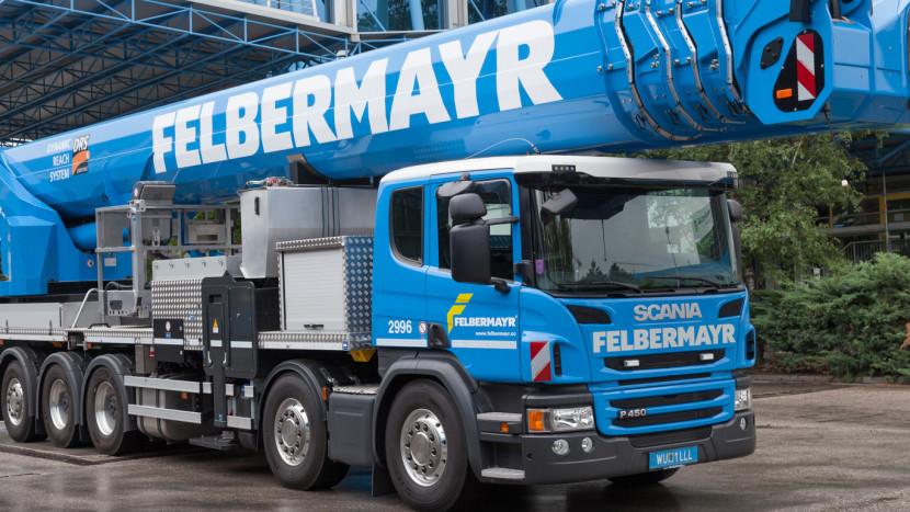 Scania P 450 Felbermayr
