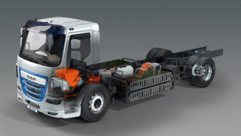 DAF prezintă camioane electrice și hibrid la IAA 2018