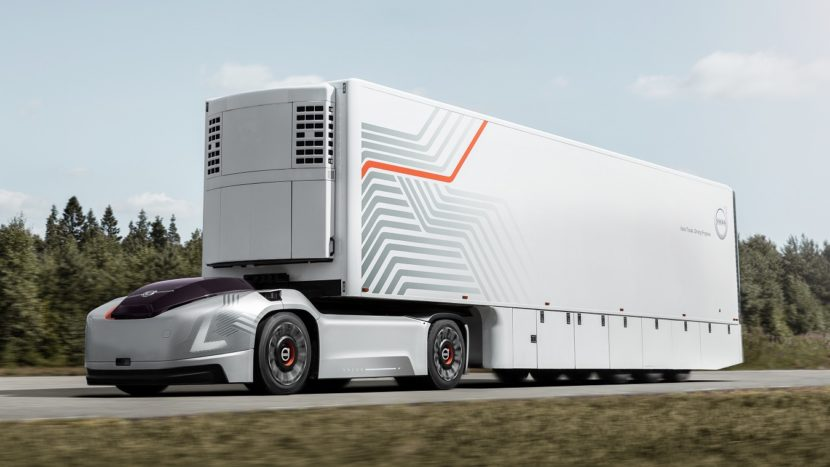 Volvo Trucks concept autotractor electric autonom