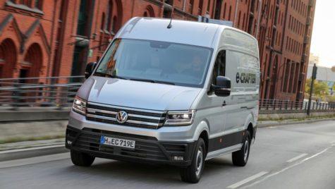 Test Volkswagen e-Crafter: Campionul urban