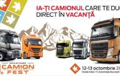 Peste 200 de camioane rulate la Camion Fest