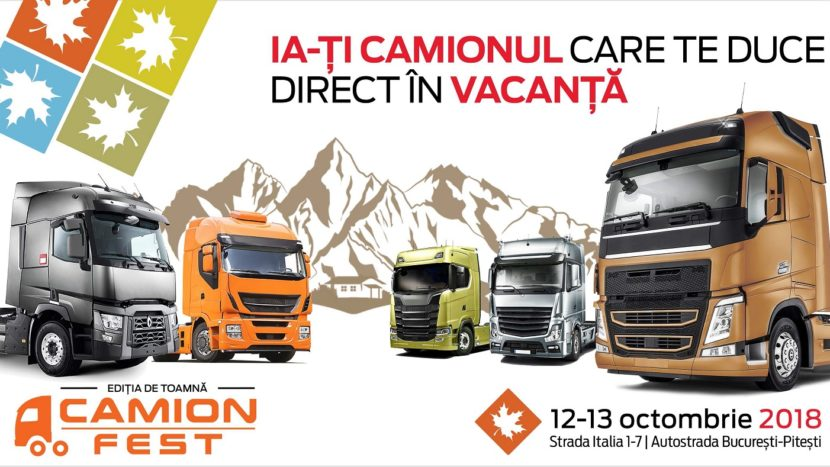 Camion Fest toamna 2018 camioane rulate