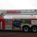 Camion de pompieri unic pe șasiu Scania