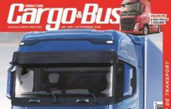 A apărut Cargo&Bus nr. 266, ediția octombrie 2018