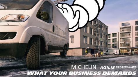 Michelin Agilis CrossClimate, prima anvelopă de vară pentru utilitare cu certificare 3PMSF