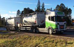 Scania a livrat primul camion alimentat cu bioetanol