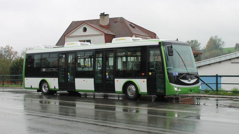 Autobuze electrice SOR Turda Anadolu Automobil Rom